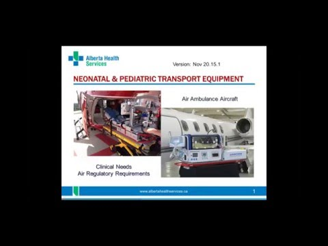 Challenges in Neonatal & Paediatric Transport:  Interfacing Clinical Care with Transport Regulations