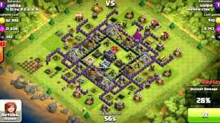 Th9 100%winning Anti hog base(replays)design!