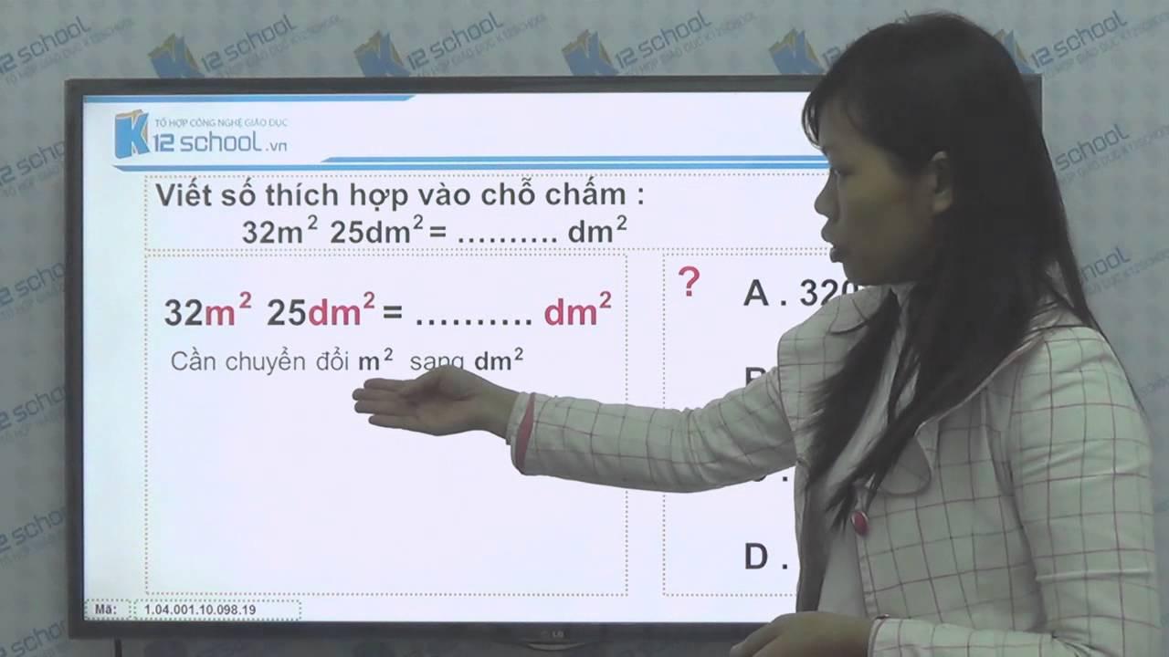 [Toán tiểu học][Toán 4, Toán lớp 4] - Giới thiệu đề - xi - mét vuông - [Lika-K12school]