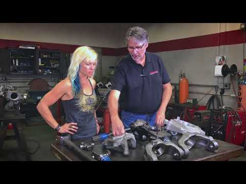 Jessi Combs Builds Dynatrac Axles for Her New KOH Stock Class Jeep