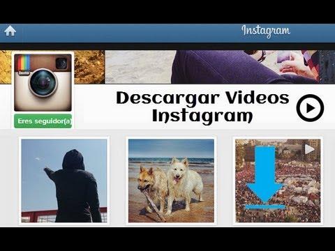 Como Descargar Videos de instagram en MP4