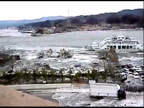 Scenes Of A Tsunami: Japan 11 March, 2011
