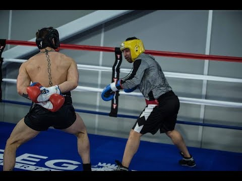 MALIGNAGGI REVEALS MINOR DETAILS OF FIRST MCGREGOR SPARRING SESSION FOR MAYWEATHER...