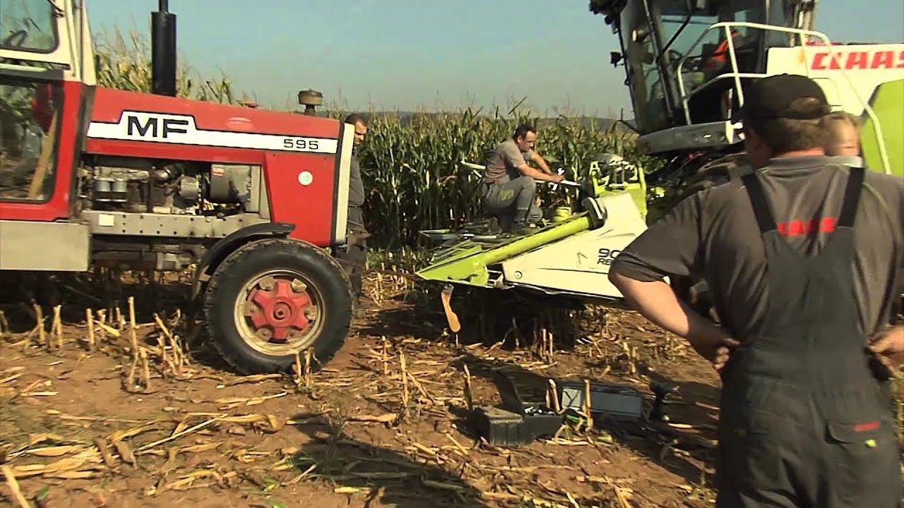 TraktorTV Folge 23 - Unfall beim Mais häckseln - YouTube