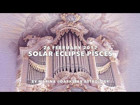 Solar Eclipse February Pisces  2017 ~ Sacred Geometry By Marina