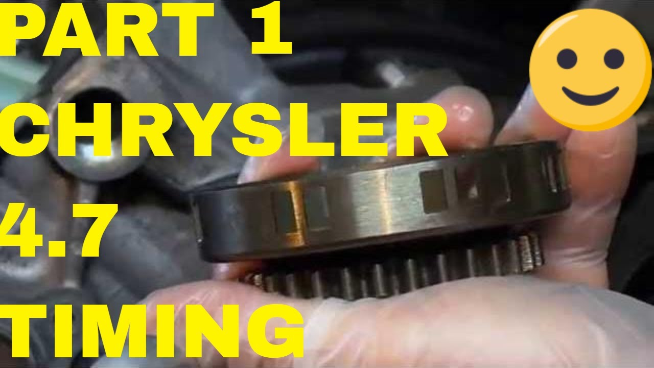 Jeep Grand Cherokee Laredo >> Part 1 Chrysler 4.7 V8 Timing Chain Removal and Installation - YouTube