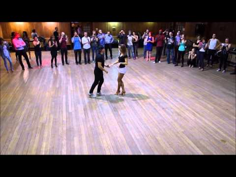 Advanced On-1 Salsa Lesson with Gil and Shelley