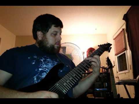 Open D 8-string riff