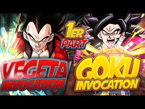 INVOCATIONS SSJ4 GOKU/VEGETA (Une chance incroyable ??) - Dokkan Battle