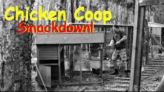 Chicken Coop Knock Down