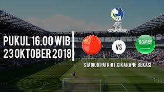 Jadwal pertandingan China U-19 Vs Arab Saudi U-19 di Piala AFC U-19