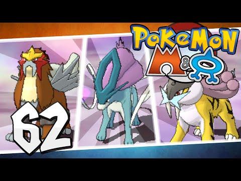 Pokémon Omega Ruby And Alpha Sapphire - Episode 62   Raikou, Entei, And Suicune!