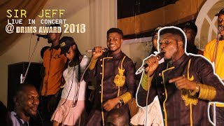 sir jeff omoruyi's live performance at drims award 2018