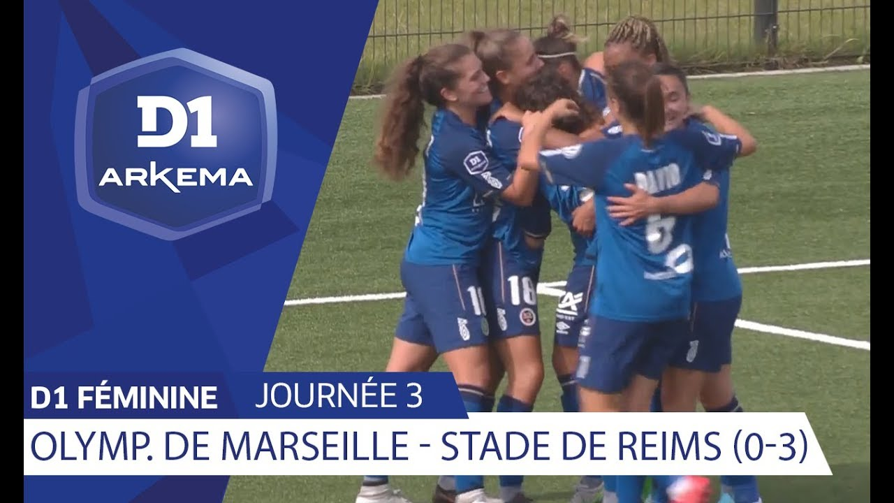 J3 Olympique De Marseille Stade De Reims 0 3 D1 Arkema