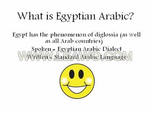 Learn Egyptian Arabic Vocabulary | Must Know Words ...
