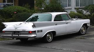 OUR 1961 CHRYSLER NEW YORKER 4 DOOR HARDTOP CLASSIC AMERICAN FINS 'N' CHROME CAR