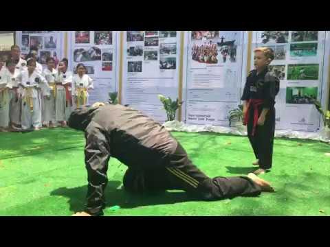 Ronnie Demo Asia Pacific Taekwondo at Mercy Center
