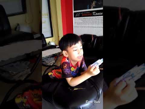Funny video Tingkah Lucu Barra (Wan Nain). Kenangan Tahun 2016