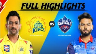 M02: CSK vs DC – Match Highlights