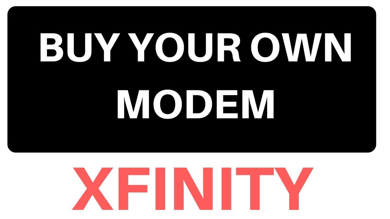 Approved Xfinity Modems and Gateways - Xfinity Help and Support