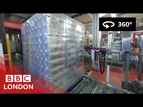 How Coca-Cola gets made, in 360° – BBC London