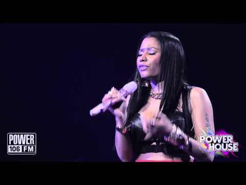 Nicki Minaj Live: 'Moment 4 Life' - Exclusive Remix For POWERHOUSE