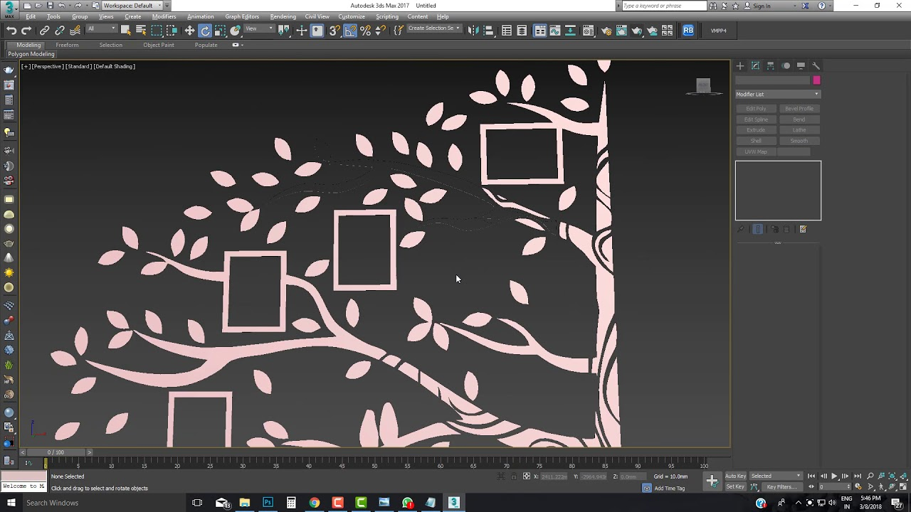 how to convert 2d image into 3d in 3ds max