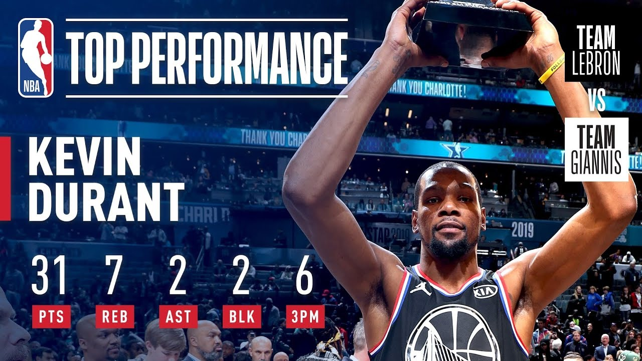 83c2d04e31c Kevin Durant Takes Home KIA All-Star Game MVP Honors!
