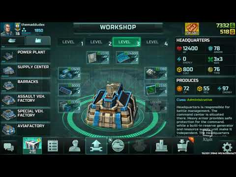 Art of War 3 Global Conflict Tutorial #4 Confederation Units