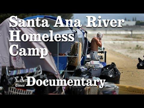 Homeless encampment near Santa Ana River is moved | Los Angeles Times