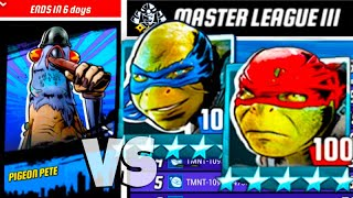 Pigeon PVP Tournament - Teenage Mutant Ninja Turtles Legends