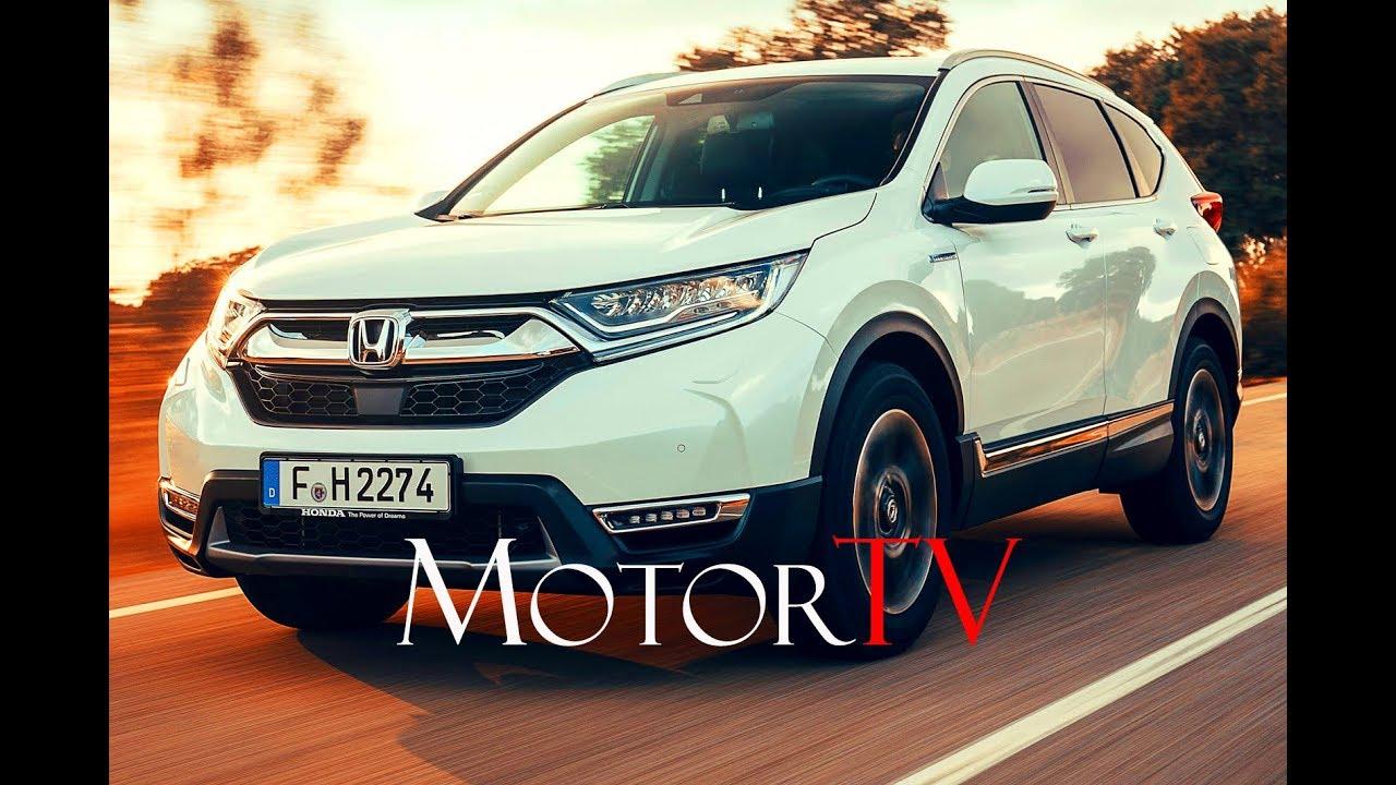 2019 Honda Cr V Hybrid Suv L Highlights Design Youtube