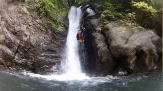 Diving In Belayers' Streams – Canyoning