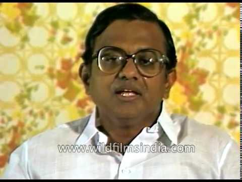 P. Chidambaram talks about K. Kamaraj, former CM of Tamil Nadu