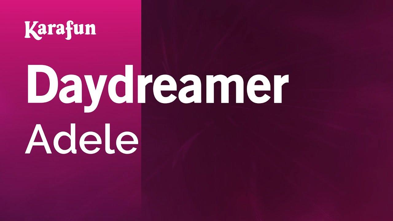 Karaoke Daydreamer - Adele * - YouTube