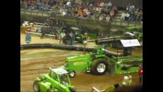 2014 NFMS 9,300 Super Farm Tractor Pull at Louisville,KY