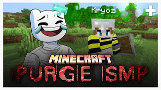 The first day of the Minecraft Purge SMP