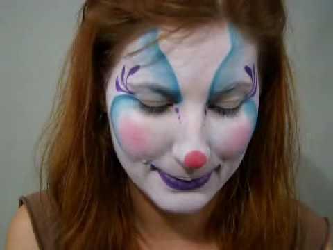 Clown Face Paint Pictures
