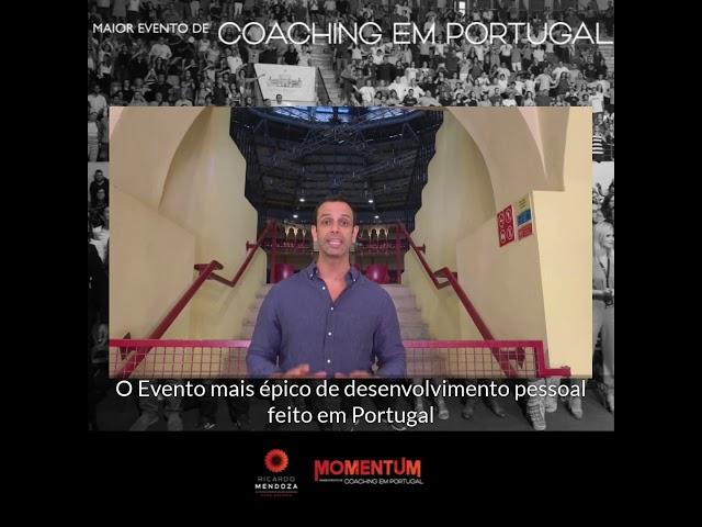Agradecimento MomentUM Portugal, maior evento de Coaching e desenvolvimento pessoal