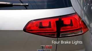 Volkswagen Golf VII 1.4 TSI Four Brake Lights BY VCDS