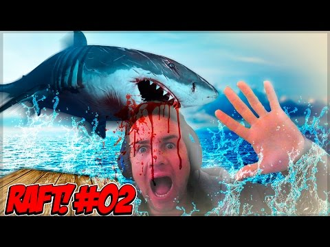 PLEASE DONT EAT ME!!!! - raft#2 - Donut the dog gaming