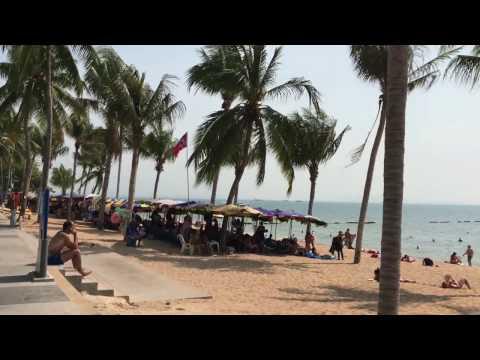 Jomtien Pattaya Beach Thailand 2017