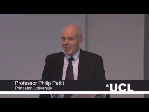 UCL Quain Lectures | Professor Philip Pettit: Legitimacy and Justice