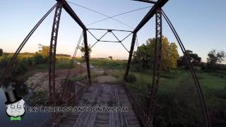 Sugar Creek Steel Truss Bridge