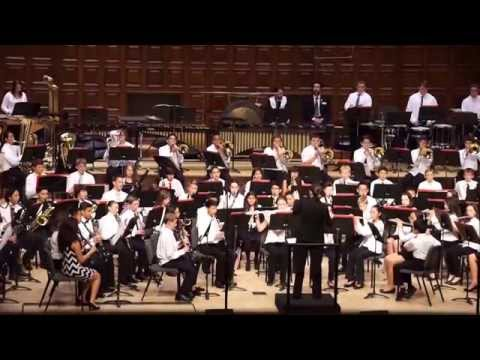 2015 SBC Middle School Honor Band - St Petersburg March