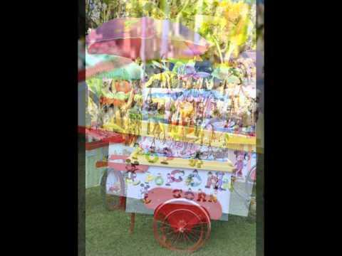 Carritos de chuches para fiestas eventos cumplea os - Carro de chuches para cumpleanos ...