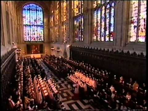 Carols from King's 2003 - Once in Royal David's City