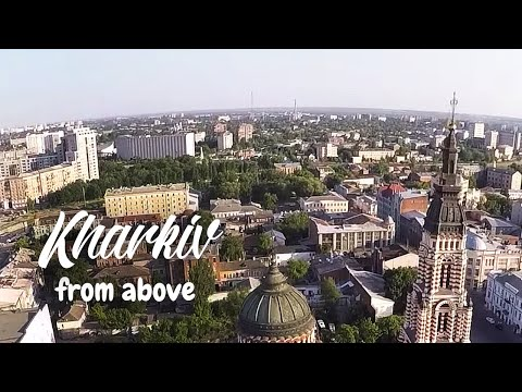 Kharkiv from above