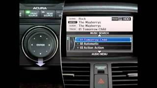 2011 & 2010 Acura MDX Audio System Tutorial