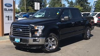 2016 Ford F-150 XLT W/ Satellite Radio, Tailgate Step, CD Review| Island Ford